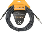 Leem 20ft (6m) Fabric Guitar Cable 1/4