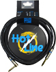 Leem Hotline 10ft (3m) Cable SL High quality instrument cable.1/4