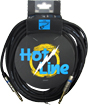 Leem Hotline 20ft (6m) Cable SS High quality instrument cable.1/4