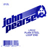 John Pearse Plain loop end string .012 John Pearse. Single string