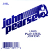 John Pearse Plain loop end string .015 John Pearse. Single string
