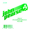 John Pearse Phosphor bronze ball end .020 John Pearse. Single string