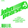 John Pearse Phosphor bronze loop end .026 John Pearse. Single string