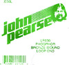 John Pearse Phosphor bronze loop end .030 John Pearse. Single string