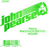 John Pearse Phosphor bronze ball end .054 John Pearse. Single string
