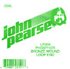 John Pearse Phosphor bronze loop end .059 John Pearse. Single string