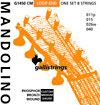 Galli Mandolin Strings, Ph/Bz.Medium Phosphor Bronze wound, loop ended.