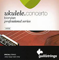 Galli Uke Strings, Concert BioNylon String gauges: 022 .034, .040 .024