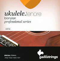 Galli Uke Strings, Tenor BioNylon String gauges: 024 .034, .040 .027