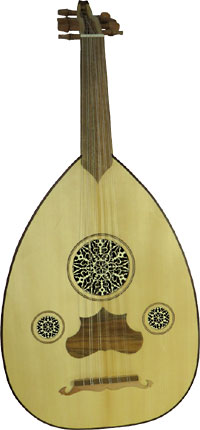 Atlas Turkish Oud Good student Oud with solid spruce top
