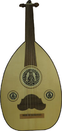 Atlas Arabic Oud Good student Oud with solid spruce top